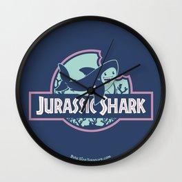Jurassic Shark - Great White Shark Wall Clock