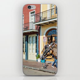 A Stroll down the Streets of New Orleans iPhone Skin