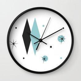 Vintage 1950s Mid Century Modern Design Wall Clock
