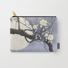 Full Moon and blossom Carry-All Pouch
