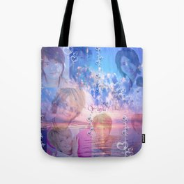 Bubbly Tego Tote Bag