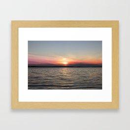 Lac La Biche Framed Art Print