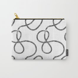 bicycle chain repeat pattern Carry-All Pouch