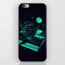 Crossing the Rough Sea of Knowledge   iPhone Skin