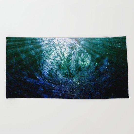 Mystic Tree of Life & Death Beach Towel