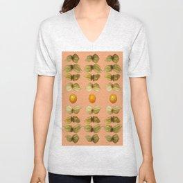 Fruit Physalis Unisex V-Neck