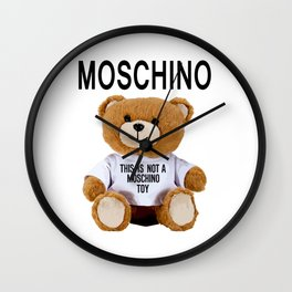 Toy Moschino Wall Clock