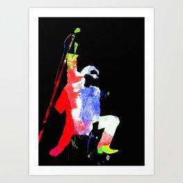 Bono Watercolor II Art Print