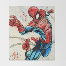 Web-Slinger Spider-Man Throw Blanket