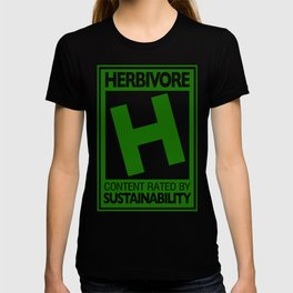 Rated H for Herbivore T-shirt