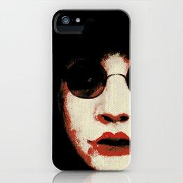 Dark Lenses 1  iPhone Case
