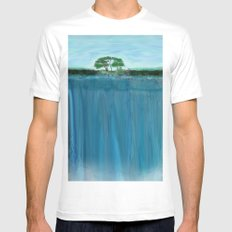 Elevation 2 Mens Fitted Tee White MEDIUM