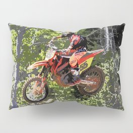 High Flying Racer - Motocross Champ Pillow Sham