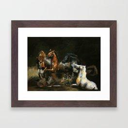The Horses of Roan/ Scorpio Races Framed Art Print