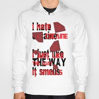 cocaine Hoodies featuring I hate Cocaine #4 by John D'Amelio