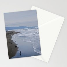 Cold Beach Stationery Cards