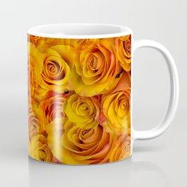 Grenadier Tangerine Roses Coffee Mug
