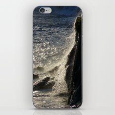 Golden water iPhone & iPod Skin