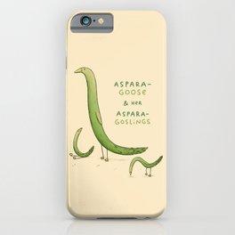Asparagoose & Her Asparagoslings iPhone Case