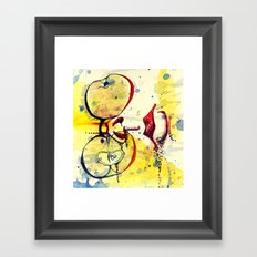 I look cool Framed Art Print