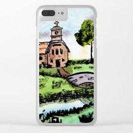Lakeside Faith Clear iPhone Case