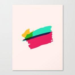 Paint Brush Canvas Print