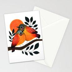 Fluffy Birds Stationery Cards