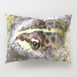 I'm Forever Blowing Bubbles Cute Frog Pillow Sham
