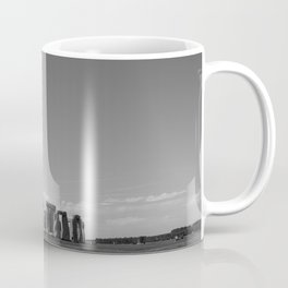 Stonehenge | Black and White Landscape Photography of UK World Heritage Site Coffee Mug
