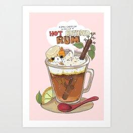 Hot buttered Rum Art Print