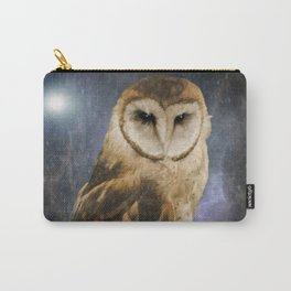Wise Old Owl - Image Art Carry-All Pouch
