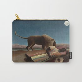 Henri Rousseau - The Sleeping Gypsy Carry-All Pouch