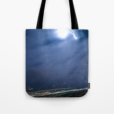 Moon Jump Sky Tote Bag