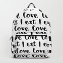 I love eat pattern by allaboutfood