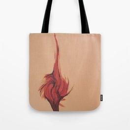 Flaming Tree Tote Bag
