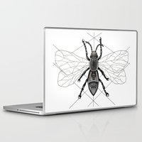 insect Laptop & iPad Skins featuring insect by silb_ck