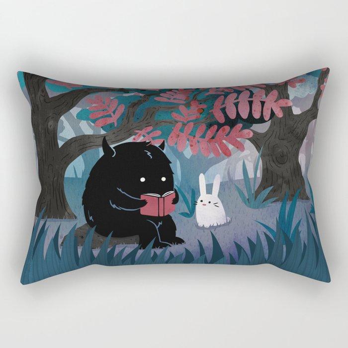Another Quiet Spot Rectangular Pillow