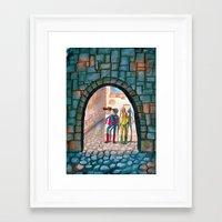 superheroes Framed Art Prints featuring Superheroes by SabineVerkoren