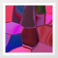 Plicate Art Print