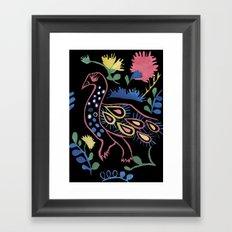 Mexican Bird Framed Art Print