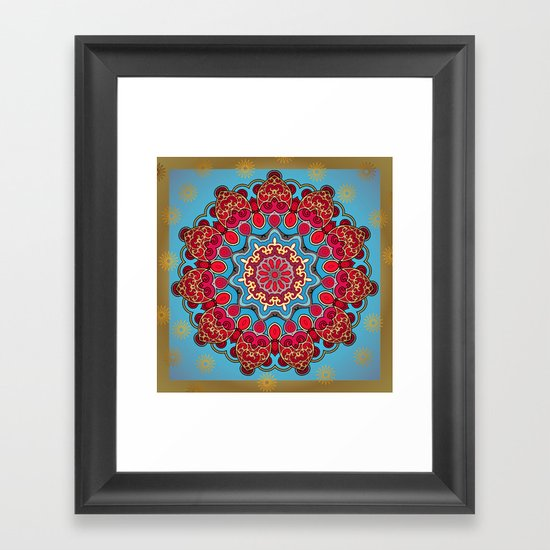 Mix&Match:  Merry Christmas From Tibet (with LOVE!) 03 Framed Art Print