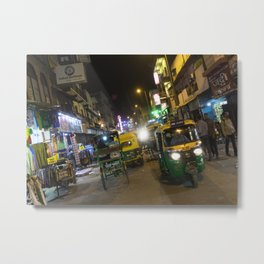 Delhi Nights Metal Print