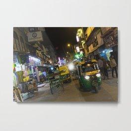Delhi Nights Metal Print