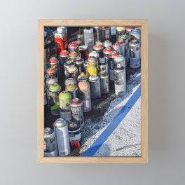 An Artist's Tools Framed Mini Art Print