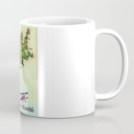 The Cotswolds Vintage Map Coffee Mug
