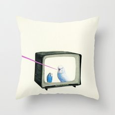Talk Show Throw Pillow