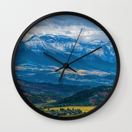 Outside of Ridgway Wall Clock
