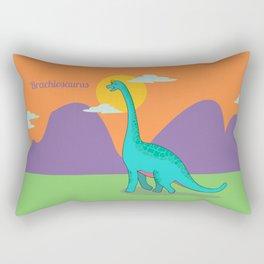 Brachiosaurus Rectangular Pillow