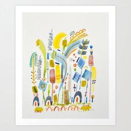 No. 16 (tender) Art Print