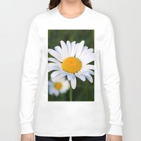 daisies Long Sleeve T-shirts featuring Daisies by Rose Etiennette